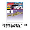 【メール便可】カツイチ ワーム100 ショットガード (Worm100 Shot Guard) チューンドプラス #1 5本入 NS Black フック