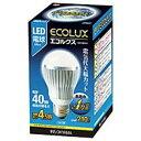 アイリスオーヤマ LED-4N261 LEDランプ(白色) 40Wタイプ エコルクス