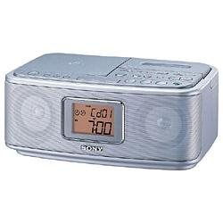 シルバー ラジオカセットコーダー
