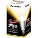 Panasonic LDA6LE17 LEDランプ(電球色) 全光束390lm E17口金 小形電球タイプ