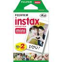 富士フィルム チェキ フィルム 20枚 instax mini WW2 チェキ用フィルム 2パック(10枚入×2)