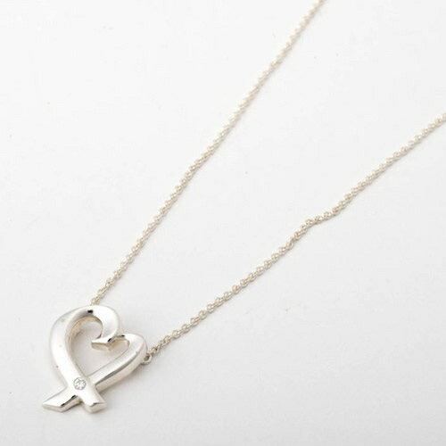 Tiffany&Co. ティファニー 25604296 ラヴィングハート 1Pダイヤ ペンダント