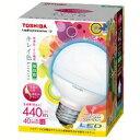 東芝 LDG8N-D/G70 LED電球 昼白色 E26口金 ボール電球タイプ E-CORE