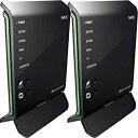NEC AtermWG1400HP PA-WG1400HP/E 無線LANルーター イーサネットコンバータセット