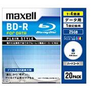 マクセル BR25PPLWPB.5S データ用 BD-R 25GB 1回記録 プリンタブル 4倍速 5枚