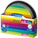 Verbatim DTR85HP10SV1 データ用 DVD+R DL 8.5GB 1回記録 プリンタブル 8倍速専用/10枚/インクジェットプリンタ