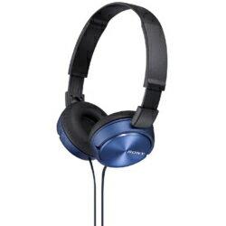 ソニー MDR-ZX310-L(ブルー) ステレオヘッドホン