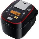 パナソニック SR-SPA106-K(ブラック) Wおどり炊き スチーム&可変圧力IHジャー炊飯器 5.5合