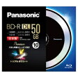 パナソニック LM-BR50L10BP 録画用 BD-R DL 50GB 1回録画 4倍速 10枚