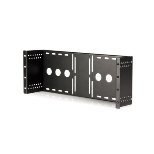StarTech RKLCDBK(ブラック) キャビネット用VESAマウントアダプタ