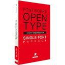 フォントワークスジャパン フォントワークス OpenTypeフォント クレーPro-M for Mac