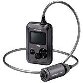 【長期保証付】パナソニック HX-A500-H(グレー) 4Kウェアラブルカメラ