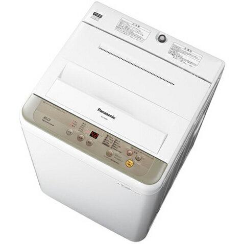 パナソニック NA-F60B9-N(シャンパン) 全自動洗濯機 洗濯6kg