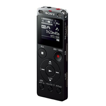 ソニー ICD-UX560F-B(ブラック) ステレオICレコーダー 4GB