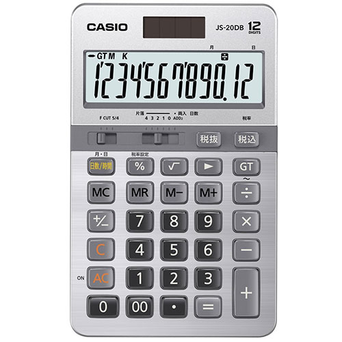 CASIO JS-20DB 実務電卓 12桁の商品画像