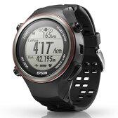 【長期保証付】エプソン SF-850PB(ブラック) WristableGPS 腕時計タイプ