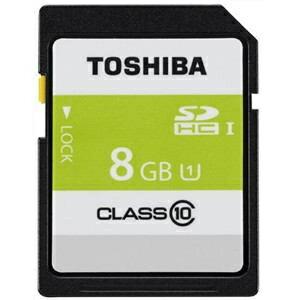 東芝 SDAR40N08G SDAR40N SDHCカード 8GB CLASS10