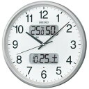 SEIKO KX383S 電波掛け時計