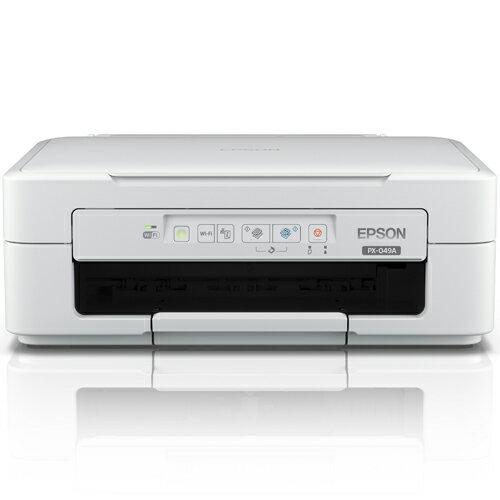 エプソン Colorio(カラリオ) PX-049A(ホワイト) インクジェット複合機 A4対応