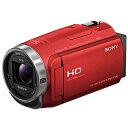 【長期保証付】ソニー HDR-CX680-R(レッド) デジタルHDビデオカメラレコーダー 64GB