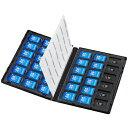 サンワサプライ FC-MMC25SDM DVDトールケース型メモリーカード管理ケース SDカード/microSDカード用