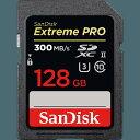 SanDisk SDSDXPK-128G-JNJIP Extreme Prp SD UHS-IIカード SDXCカード 128GB CLASSU3
