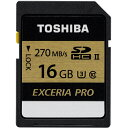 ��� SDXU-C016G EXCERIA PRO(�������ꥢ�ץ�) SDHC������ 16GB CLASS10