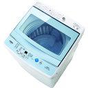 【設置+リサイクル】アクア AQW-GS50F-W(ホワイト) 全自動洗濯機 上開き 洗濯5kg