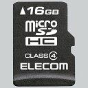エレコム MF-MSD016GC4R microSDHCカード 16GB CLASS4