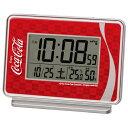 セイコー AC606R 電波目覚まし時計 コカ・コーラ