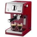 【長期保証付】デロンギ ECP3220J-R(パッション レッド) コーヒーメーカー アクティブ