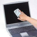 サンワサプライ CD-CC23BL(ブルー) ディスプレイクリーニングパッド