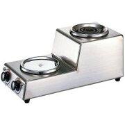【長期保証付】カリタ 2連ハイウォーマー タテ型 1.8Lデカンタ保温用・湯沸し用