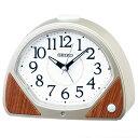 セイコー KR511G(薄金色パール塗装) クオーツ 夜でも見える 目覚まし時計