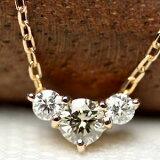K18 ダイヤモンド 0.25ct ペンダント ネックレス【glace-グレース-】【】ホワイトゴールド・ピンクゴールド・イエローゴールド【楽ギフ包装】