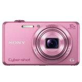 【】SONY ソニー デジタルカメラ Cyber-shot(サイバーショット) 画像処理エンジンに最新の「BIONZ X」を採用した光学10倍ズームレンズ搭載コンパクトデジカメ DSC-WX220(P
