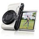 【送料無料】CASIO カシオ デジタルカメラ HIGH SPEED EXILIM ハイスピードエクシリム 日本のゴルフを強くする 「HIGH SPEED EX-ZR1100」をベースに開発したゴルフ専用デジカメ 石川遼プロのスイングムービー内蔵 EX-FC400S EXFC400S