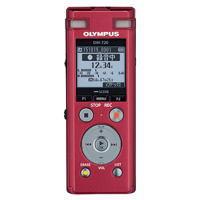 【送料無料】OLYMPUS オリンパス ICレコーダー ビジネスシーンを力強く支える抜群の実用性 内蔵メモリー4GB Voice-Trek ボイストレック DM-720(RED-レッド) DM720-RED
