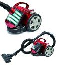 【送料無料】VERSOS ベルソス サイクロニックマックステラ サイクロンクリーナー 掃除機 VS-5501(R-レッド)VS-5501-R VS5501-R【楽天スーパーSALE】