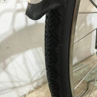 KE033 Panasonic ビビDXSD ミルクティ 5AH 26インチ 自転車保険付帯 充電器付属 電動アシスト自転車【神戸】の画像