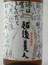 お中元 【蔵元直送】越後美人 特別本醸造 1800ml