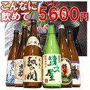 日本酒 飲み比べセット 720ml×6本 四合瓶(朝日山、福扇、幾久屋、雪しずくの里、越の