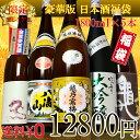 【豪華版/春】福袋 日本酒 飲み比べセット1.8L×5本(越...