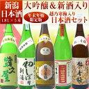 【年末年始限定版】越乃寒梅&大吟醸&新酒入り日本酒福袋飲み比べセット1800ml×5本(