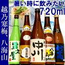 日本酒 飲み比べセット 越乃寒梅&八海山入り第45弾ミニ 720ml×5本セット(越乃寒梅