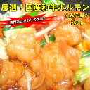 【厳選】ぷりっぷり!専門店こだわりの逸品!国産和牛味噌ホルモン300g