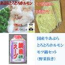 国産牛モツ鍋セット(野菜抜き)しょうゆ味(2〜3人前用)【B級グルメ】 【バーベキュー】