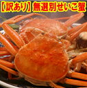 【訳あり】無選別せいこ蟹×5匹型は不揃いでも味じゃ負けない!【着日指定不可】...
