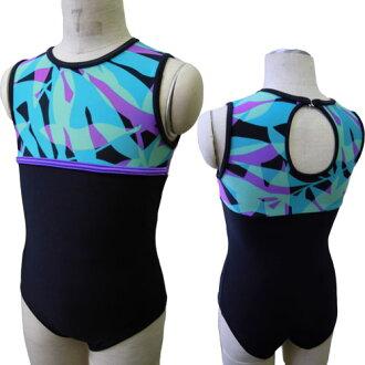 Junior * ノースリーブレオタード * Tropical Reef 120・130-140 cm