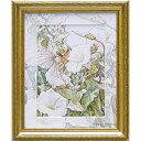 ユーパワー フラワー フェアリーズ アート フレーム「ホワイト バインド ウィード フェアリー」【FF-05002】【smtb-s】